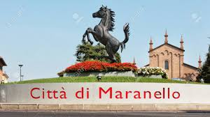 maranello italy maranello modena italy year 2017 horse monument symbol of