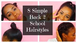 Easy Hairstyles For Medium Straight Hair by 8 Simple Back 2 Hairstyles For Short Straight Hair Bts