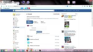 how to repair missing add facebook friend request button 2013