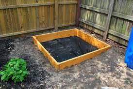 Backyard Sandbox Ideas How To Build A Sandbox Part 2 House