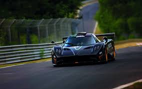 blue pagani zonda pagani zonda r evo will make debut at goodwood festival news
