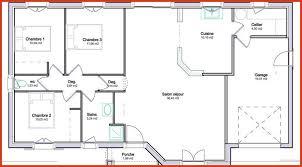 plan maison 90m2 plain pied 3 chambres plan de maison plain pied ravissant plan maison 90m2 3 chambres