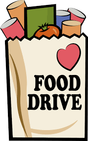 canned food drive posters food drive logo pirouette academy