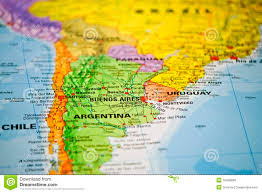 Map If South America Coloful Map Of South America Royalty Free Stock Images Image