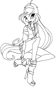 winx club coloring pages free to print coloringstar