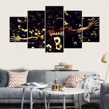 livingroom liverpool aliexpress buy sale 5 panel hd liverpool fc print canvas