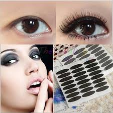 henna eye makeup 360pair lot beautiful black stripe make up eye sticker