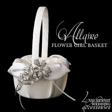 Wedding Baskets Flower Accessories Flower Baskets Ring Pillows By