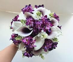 calla bouquet white plum purple calla bouquet bridal bouquet wedding
