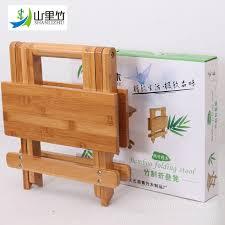 bamboo fishing stool folding square chair stool fishing chair