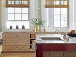 Coastal Themed Kitchen - coastal kitchen ideas built in stove sink oven white modern gloss