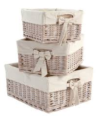 Orchard Sleigh Cot Toddler Bed White Storage Baskets Set Of 3 In White Wash Nursery Accessories