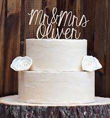 monogram cake toppers wedding cake topper cake toppers rustic cake