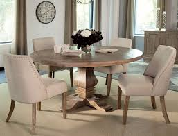 Ellery Round Crib by Florence Warm Natural Round Dining Room Set By Donny Osmond From