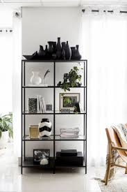 Black And White Home by Best 25 Black Shelves Ideas On Pinterest Black Floating Shelves
