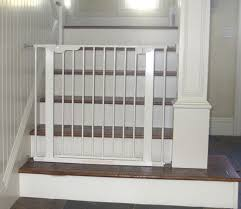 Baby Gates For Bottom Of Stairs With Banister Baby Safety Tension Pressure Gate For Child Baby Safe Homes