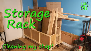 Wood Storage Rack Plans by How I Built My Wood Storage Rack Build Video Youtube