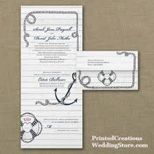 send and seal wedding invitations set sail with nautical wedding invitations printed creations