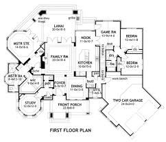 Bi Level Floor Plans With Attached Garage by Craftsman Style House Plan 3 Beds 2 50 Baths 2595 Sq Ft Plan