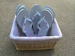 wedding flip flops bulk wedding flip flops with basket sandals by