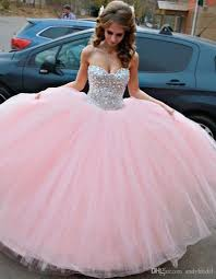 quinceanera pink dresses baby pink quinceanera dresses 2015 prom dresses with rhinestones