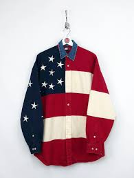Tommy Hilfiger Flag Tommy Hilfiger American Flag Shirt