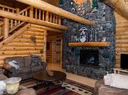 million log cabin on razorback lake sec vrbo