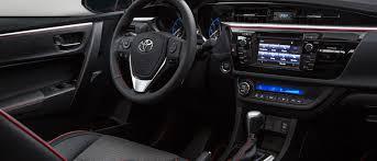 Toyota Interior Colors 2017 Toyota Corolla Milton Martin Toyota