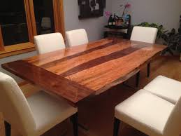 rustic log dining room tables neal s slab dining table the wood whisperer amazing with regard to