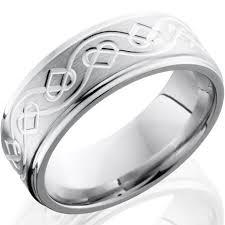 celtic mens wedding bands celtic heart cobalt wedding band whimsical elegance by titanium buzz