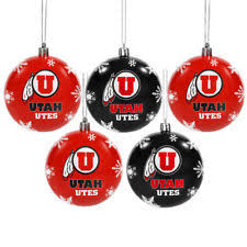 forever collectibles utah utes ncaa ornaments ebay