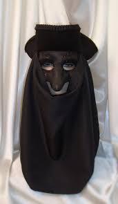 plague doctor masquerade mask black venetian nose mask and hat set masquerade mask
