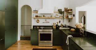 green kitchen cabinets 9 green kitchen cabinet ideas for your most colorful