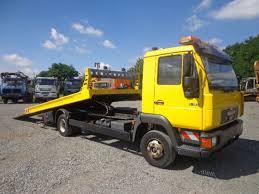 man l2000 8 163 abschleppwagen pateau hubrille rampe tow trucks