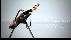 Ironman Essex 990 Inversion Table Ironman 3000 Inversion Table Youtube
