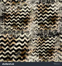 seamless pattern animal design leopard background stock