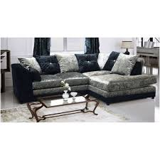 Cheap Armchairs For Sale Uk Cheap Sofa Uk Crystal Crushed Velvet Black And Silver Corner