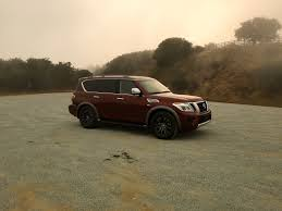 nissan armada 2017 v8 first drive patrolling for alternative routes in the 2017 nissan