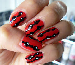 be brave by copying these 14 red acrylic nail designs on your