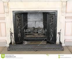 cast iron fireplace stock photo image 58079485