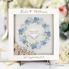 guestbook wedding white personalised wedding guestbook small big laser cut square