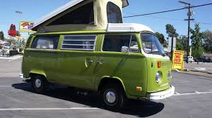 volkswagen van 1977 vw volkswagon westfalia camper bus rv for sale youtube