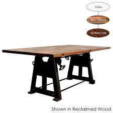 Dining Room Sets With Wheels On Chairs V3 Large Dining Table Dining Tables By Inmod