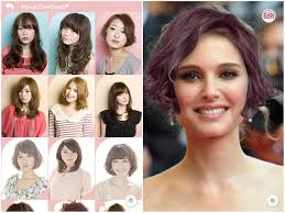hair color simulator 4 top free hairstyle apps for iphone and android female