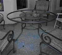 Patio Glass Table Tables And Pyrex Shattering