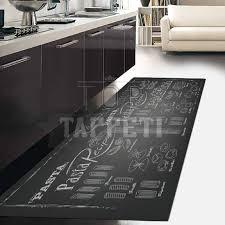 tappeti per cucine gallery of kitchen tappeto passatoia cucina sta digitale pasta