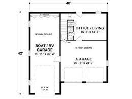One Car Garage Apartment Plans 12 Best 3 Car Garage Plans Images On Pinterest Rv Garage Plans