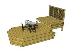 deck plans com decks com free plans