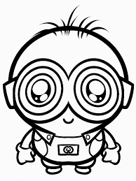 downloads despicable coloring pages minions