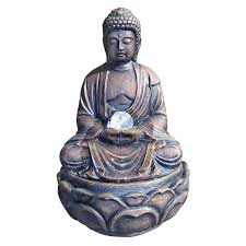 Home Decor Buddha Statue by 45 Buddha Fountains Lotus Meditation Fountains With Peace